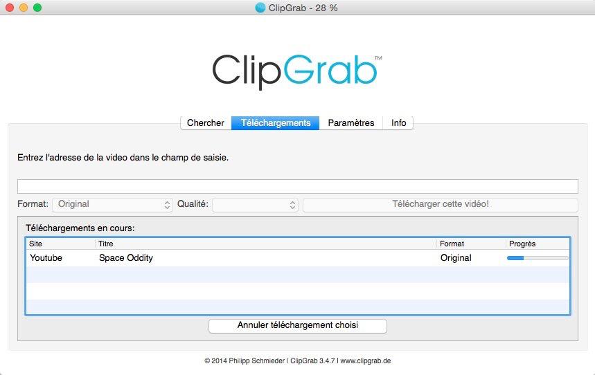 gratuit clipgrab dans comment ca marche