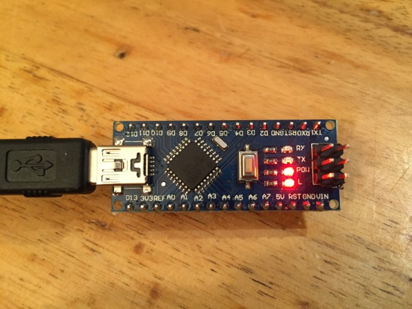 Clone d'Arduino Nano